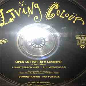 Living Colour - Open Letter (To A Landlord) download free