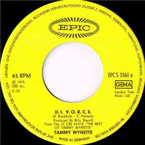 Tammy Wynette - D.I.V.O.R.C.E. download free
